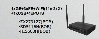ZX279127(BOB)/SD5116H(BOB)/HI5663H(BOB)